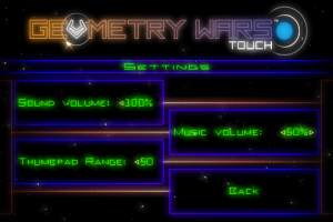 Geometry Wars: Touch
